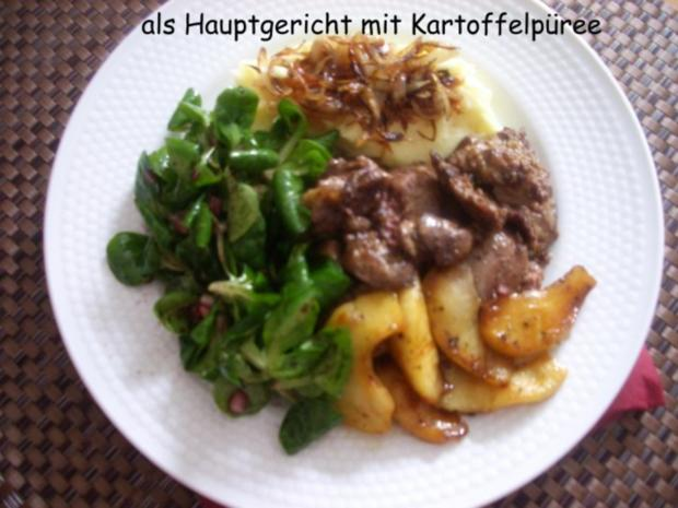 Hähnchenleber auf Feldsalat - Rezept - Bild Nr. 14