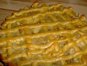 Französische Apfeltorte - Rezept