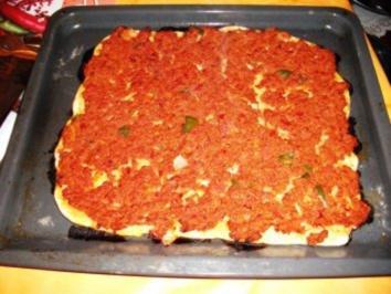 Pizza:Lahmacun Türkische Pizza - Rezept