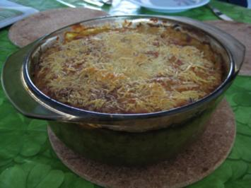 Rezept: Sauerkraut-Curry-Aauflauf