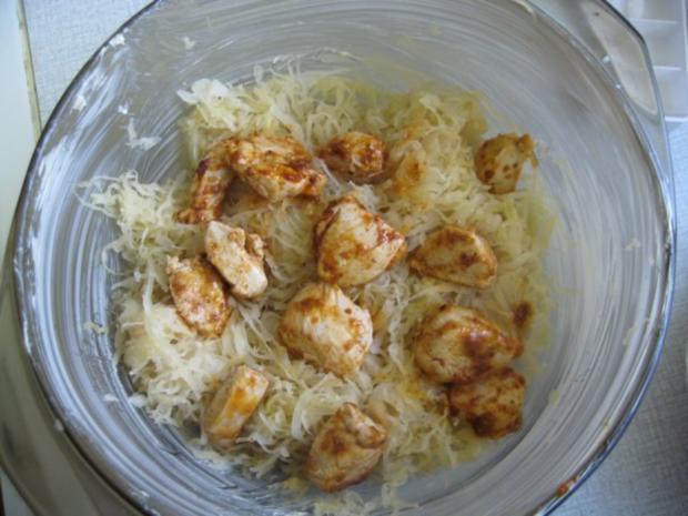 Sauerkraut-Curry-Aauflauf - Rezept - Bild Nr. 4