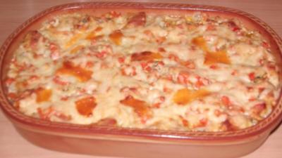 Gemüse – Lasagne mit Putenbrust - Rezept
