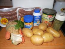 Hackbällchen - Eintopf mit Gemüsse - Rezept