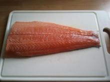 Lachs auf Zedernholz gegrillt - Rezept