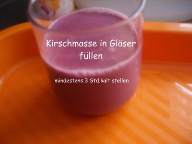 Kirsch - Panna cotta - Rezept - Bild Nr. 5