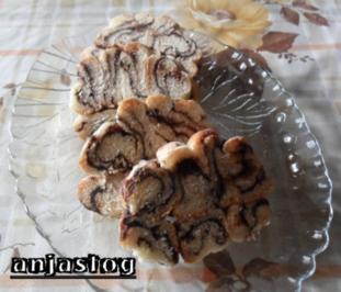 Spiraler Marmor Brot - Rezept