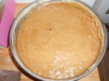 Bananenkuchen mit Schokoüberzug (ohne Ei) - Rezept