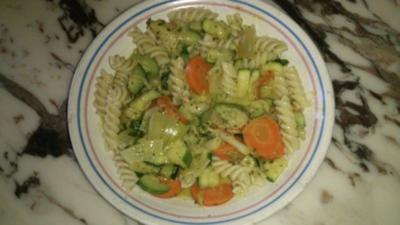 Zucchini-Nudel Pfanne - Rezept