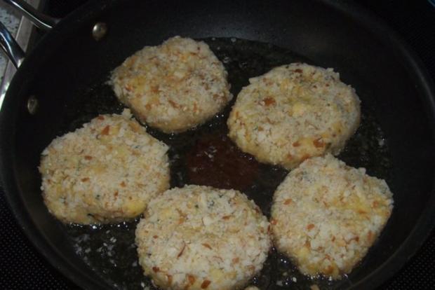 Beilagen/Hauptgericht: Kartoffel-Apfel-Plätzchen mit Aprikosen-Schmand-Dip - Rezept - Bild Nr. 8