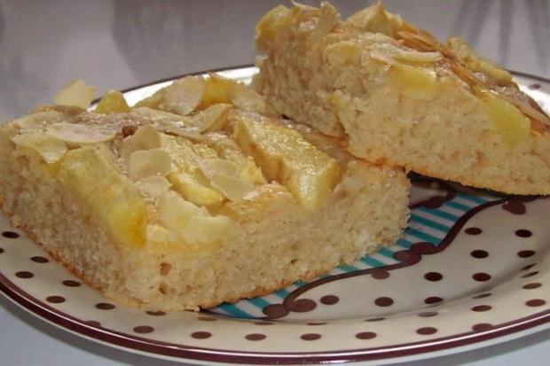 Ruck-Zuck-Apfelbutterkuchen mit Zimt - Rezept