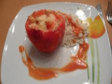 gefüllte Paprika und Zucchini - Rezept