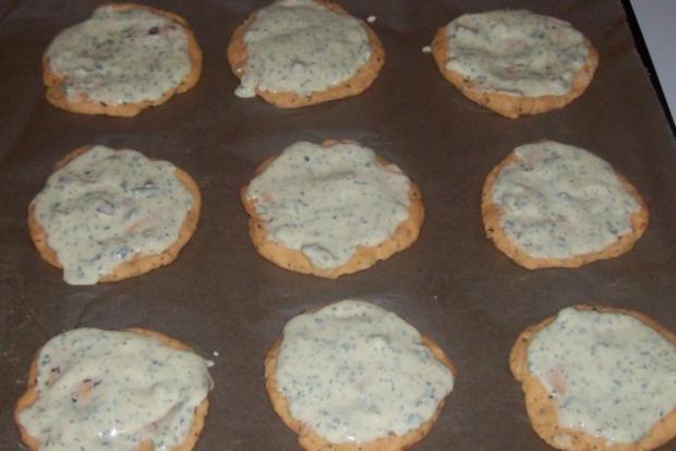 Vorspeise/Snack: Kleine Zwiebelfladen mit Paprika und Chorizo - Rezept - Bild Nr. 9