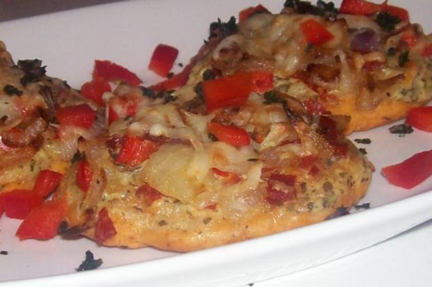 Vorspeise/Snack: Kleine Zwiebelfladen mit Paprika und Chorizo - Rezept - Bild Nr. 15