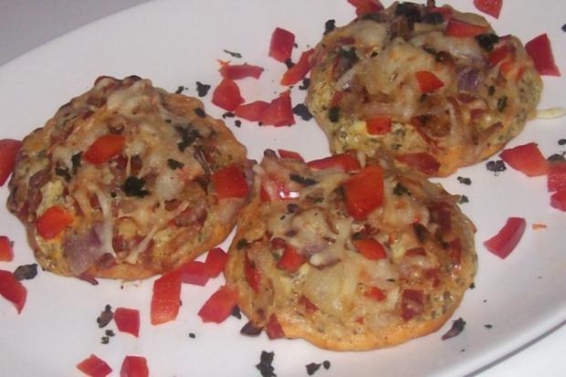 Vorspeise/Snack: Kleine Zwiebelfladen mit Paprika und Chorizo - Rezept - Bild Nr. 16