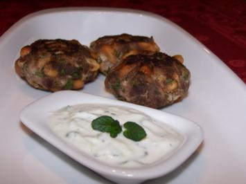 Rezept: Erdnuss-Lamm-Klößchen