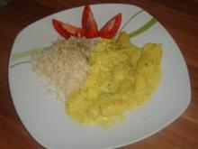 Hähnchenfilet in Ananas-Curry-Sauce - Rezept
