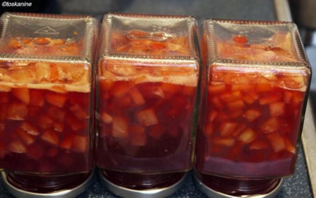 Ananas-Blutorangen-Konfitüre - Rezept - Bild Nr. 7