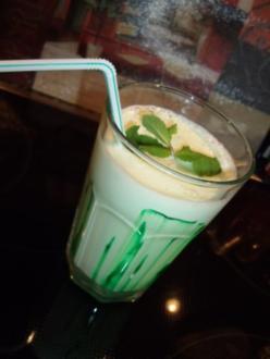 Minz-Shake - Rezept