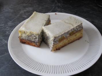 Quark Mohn Kuchen Vom Blech Rezept Mit Bild Kochbar De