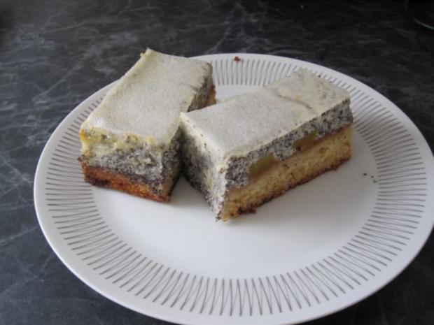 Quark-Mohn-Kuchen vom Blech - Rezept