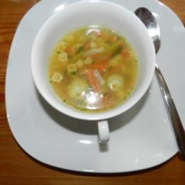 Markklößchensuppe - Rezept