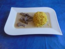 Kochen:Rindfleisch in Kokossosse - Rezept