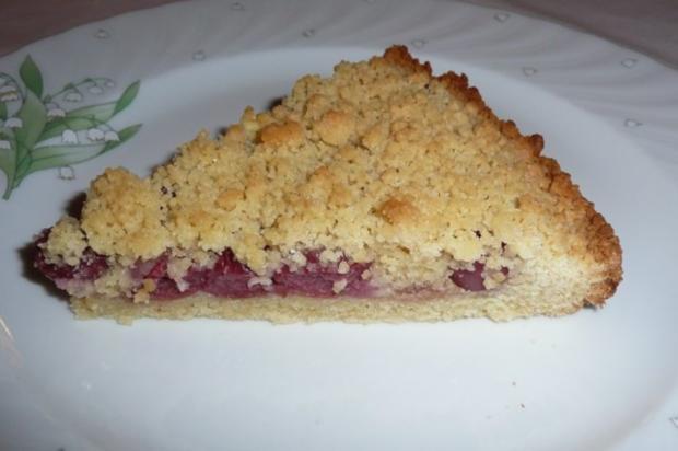 Kuchen: Kirschstreusel - Rezept