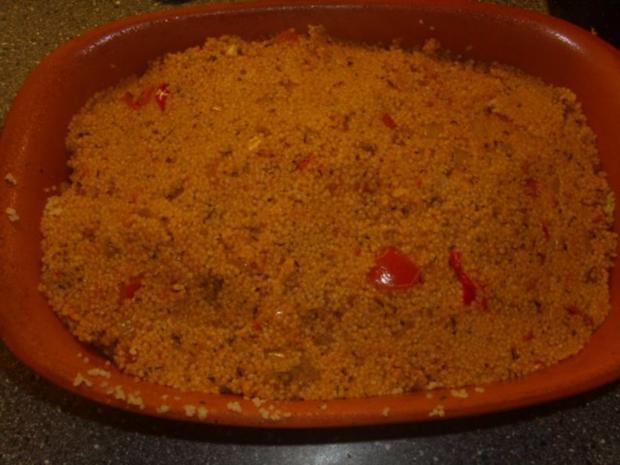 Tomaten-Couscous mit Hühnerunterkeulen - Rezept - Bild Nr. 6