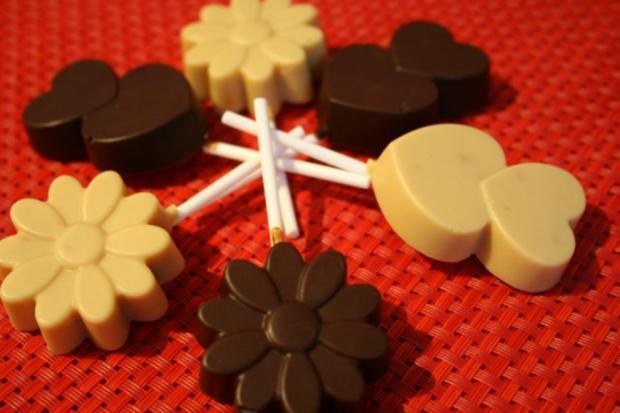 Erdnussschokolade selbst gemacht :) - Rezept - Bild Nr. 2