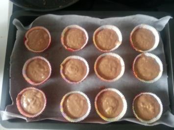 Bananen-Muffins mit Nutella - Rezept