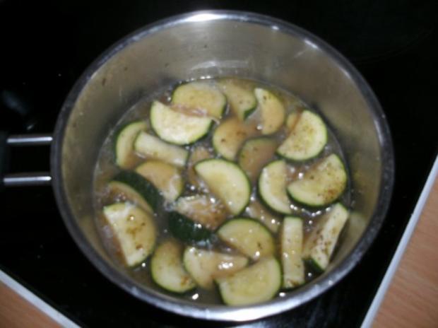 Beilage: Zucchini-Gemüse mit Entenschmalz - Rezept - Bild Nr. 3