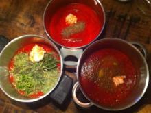 Tomatenketchup dreierlei - Rezept