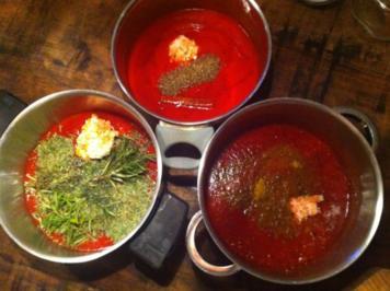 Rezept: Tomatenketchup dreierlei