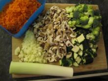 Gemüsestrudel - Rezept