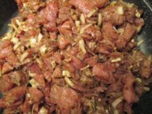 Gyros mit Pommes Frites - Rezept