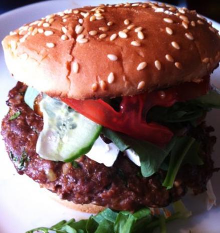 Burger zweielei - Rezept