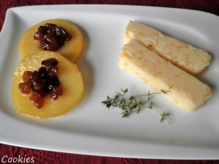 Karamelisiertes Thymian - Apfel - Parfait ... - Rezept