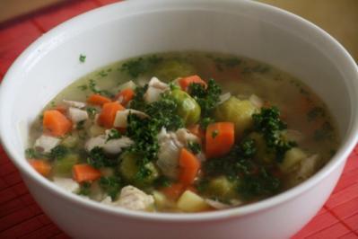 Gemüseeintopf mit Hähnchenfleisch - Rezept