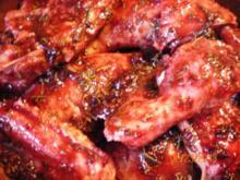 Geflügel: Hähnchen in Johannisbeergelee und Rotwein - Rezept
