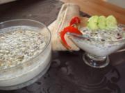 kalte gurkensuppe für den frühling - Rezept