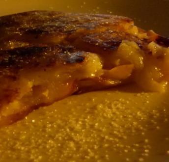 Apfel-Schmand-Pfannkuchen - Rezept