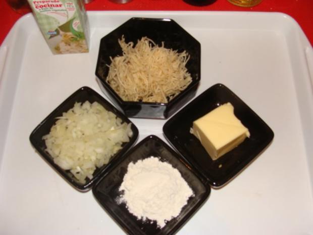 Fleisch : Gekochte Ochsenbrust mit Bouillonkartoffeln und Meerrettichsoße - Rezept - Bild Nr. 3