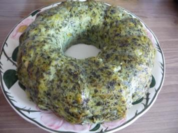 Beilage : Kartoffel - Spinat - Gugelhupf - Rezept