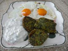 Resteverwertung : Gebratenen Kartoffel - Spinat - Gugelhupf ... - Rezept