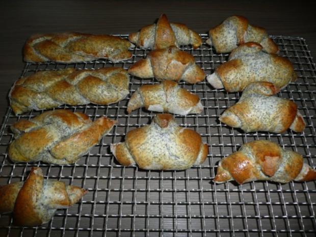 Mohn- Varianten Ca 20 Stück - Rezept