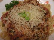 "Erikas Spaghetti Bolognese ""Capri"" - Rezept"