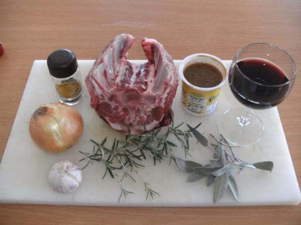 Fleisch: Lammrücken, geschmort - Rezept - Bild Nr. 2