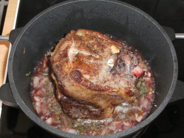 Fleisch: Lammrücken, geschmort - Rezept - Bild Nr. 3