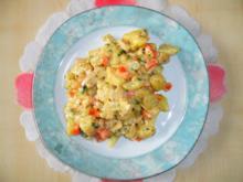 Gemüse-Gnocchi-Auflauf mit Hühnchenfleisch - Rezept