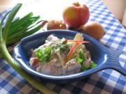 Matjessalat nach Hausfrauenart - Rezept